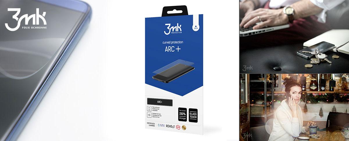 3mk ARC+ painduv kaitsekile täisekraanile