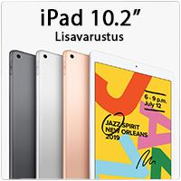 iPad 10.2 lisavarustus