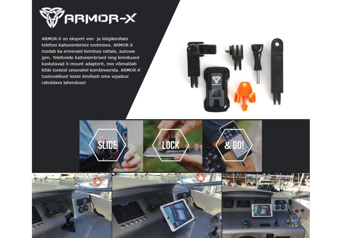 ARMOR-X Universaalne seadme adapter