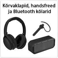 Kõrvaklapid, handsfreed ja bluetooth kõlarid