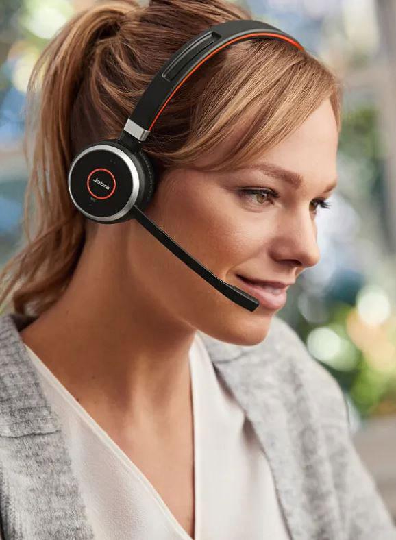 Jabra Evolve 65 - Kauge juhtmevaba ühenduvus kuni 12 tunniks