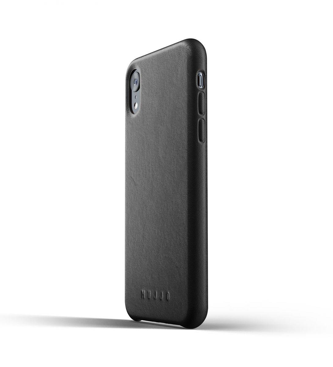 Kaitseümbris Apple iPhone XR, naturaalsest nahast, must, Mujjo « Avaleht - Tooted   Kännukas