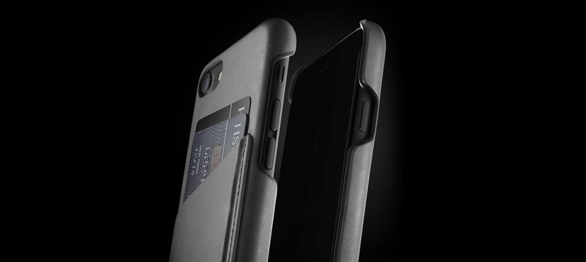 Mujjo Apple iPhone 8 black