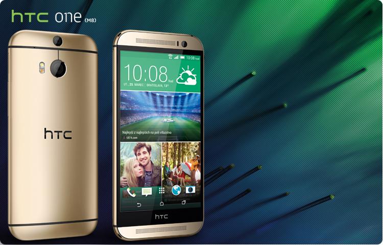 HTC One (M8) kuldne