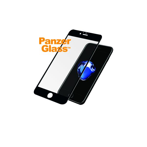 3c19151372b Ekraanikaitseklaas iPhone 6 / 6S / 7 / 8, PREMIUM, must, PanzerGlass