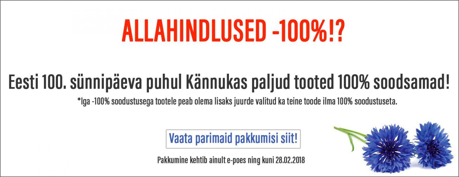 Eesti 100 pakkumised