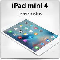 iPad mini 4 lisavarustuse valik