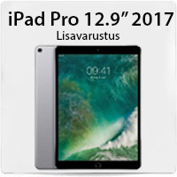 iPad Pro lisavarustuse valik