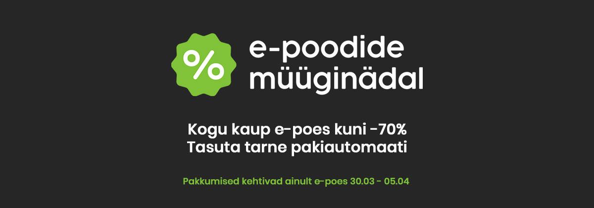 E-poodide müüginädal